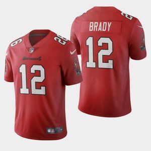 Tampa Bay Buccaneers Tom Brady 2020 Red Jersey